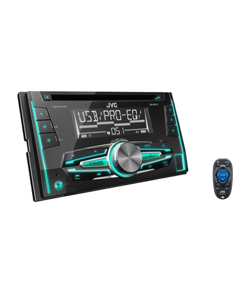 Jvc - Kd-r515 - Double Din - Digital Media Receiver With Front Usbaux Input